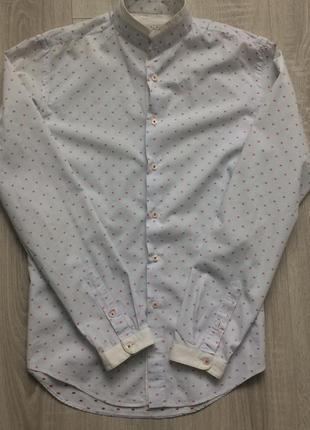Рубашка с длинным рукавом zara