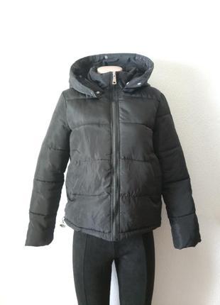 Укороченная куртка пуффер на невысокий рост petite подросток