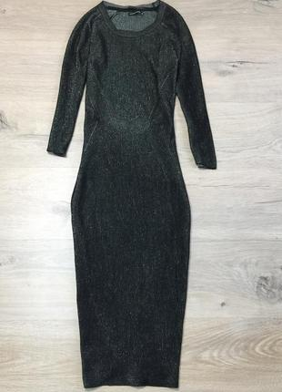 Платье чулок с разрезом