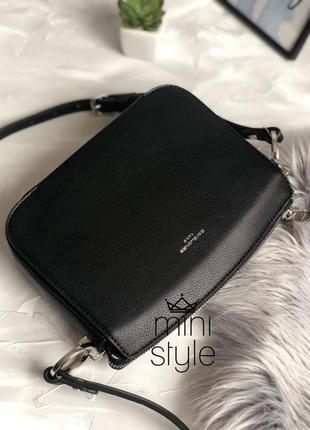Сумка на длинной ручке cross-body сумочка трендовая и стильная кроссбоди david jones5 фото