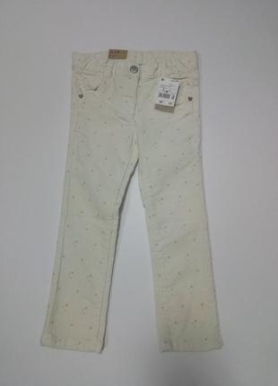 Вельветовые джинсы в звезды