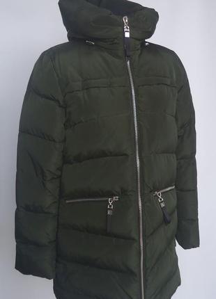 Зимняя куртка, пуховик fbc 15-131. био-пух.