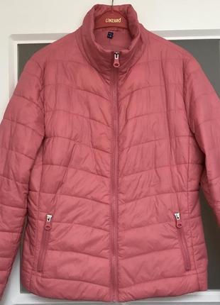 🎉ссидки! трендовая розовая демисезонная куртка