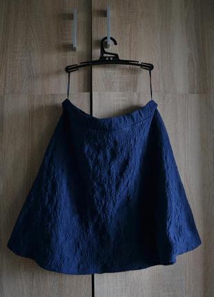 Фактурная юбка-трапеция от george