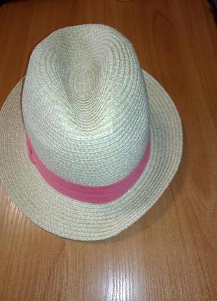 Красивая летняя шляпа