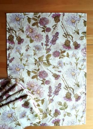 Полотенце 45×65 вафельное прованс кантри флора рушник