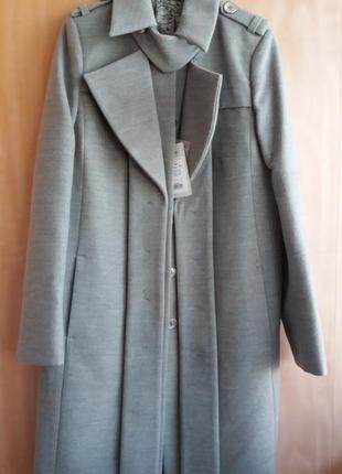Стильное пальто фабрики леся украинка, размер 48-50