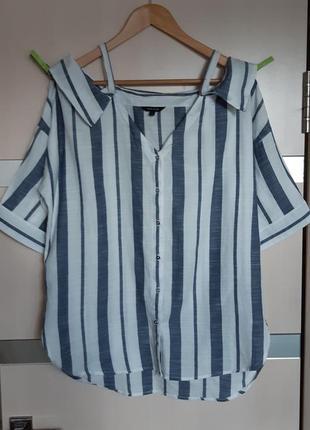 Красивая блуза на плечики river island