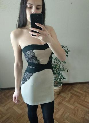 Бандажное платье