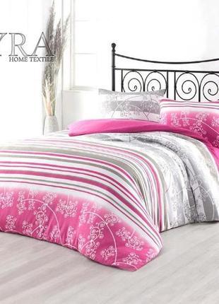 Нежный комплект махрового постельного белья