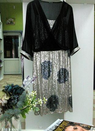 3722ccf566b Платье с пайетками Турция 2019 - купить недорого вещи в интернет ...