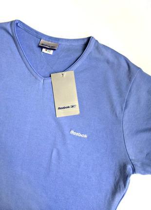 Удобная спортивная футболка нежно-голубого цвета р.16