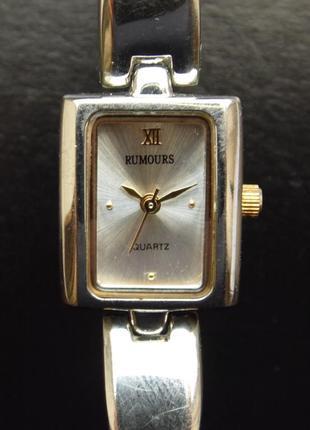 Rumours 47255 стальные часы из сша механизм japan sii