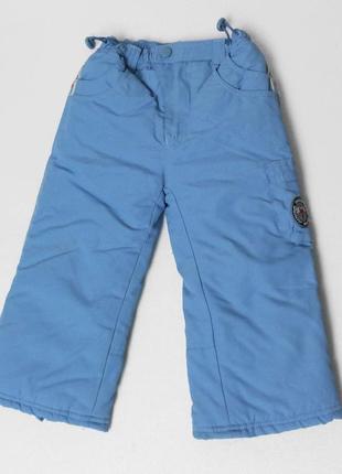 Topolino. зимние штаны 86 размер