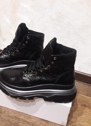 Демисезон ботинки из натурал.кожи р.36-40