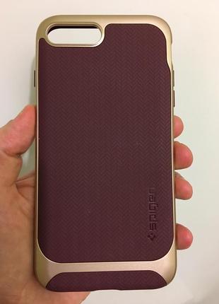 Чехол spigen neo hybrid iphone 7 8 plus немного поцарапан(((