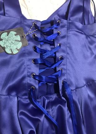 Шикарное длинное вечернее выпускное платье стильное для беременных3 фото