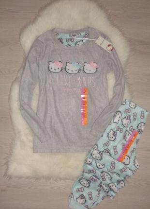 Пижамка primark hello kitty xs/s ,m