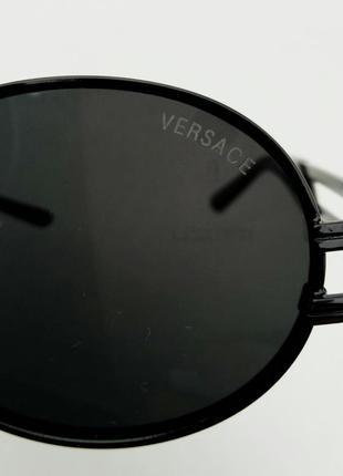 Очки унисекс солнцезащитные круглые