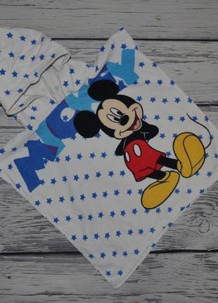 Фирменное детское полотенце пончо девочке махровое микки маус disney дисней