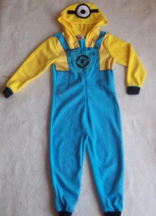 Пижама человечек флис миньон, длина 97 см.