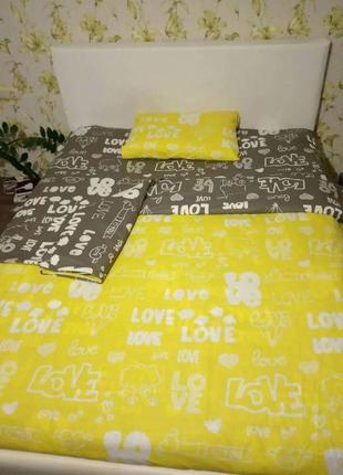 Комплект білизни love2