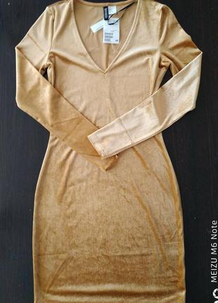 Супер яркое мини платье h&m6 фото