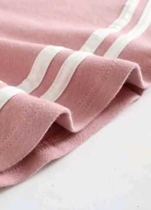 Платье розовое с оборками с воланами4 фото