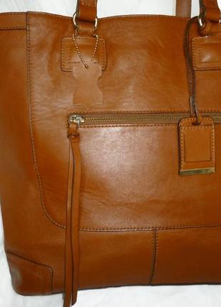 Vip ! шикарная большая сумка натуральная кожа  h&m