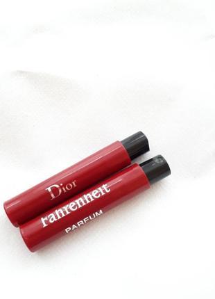 Пробники парфюмированой воды dior fahrenheit le parfum