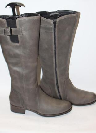 Новые сапоги pier one кожа англия 41р зима ботинки