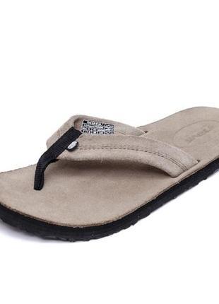 Замшевые вьетнамки teva old town flip flops. стелька 24, 5 см