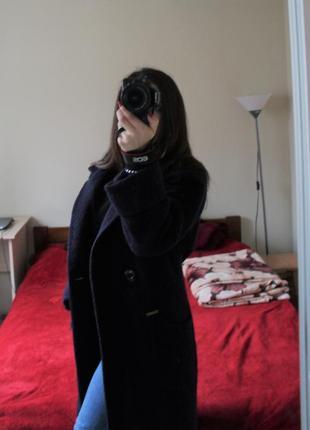 Теплое кашемировое пальто kornev