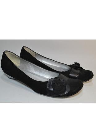 Р.39 orizonte италия оригинал натуральная кожа! женственные элегантные комфортные туфли