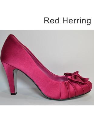 Р.39 redherring германия оригинал текстиль/эко-кожа! модные эффектные комфортные туфли