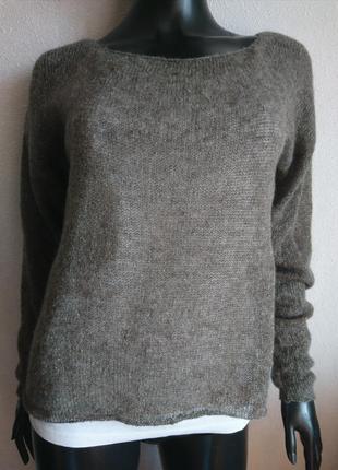 Воздушный летний свитер кофта накидка