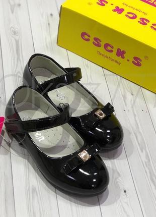 Нарядные лаковые туфли для девочки, размер-26,29,30,31.