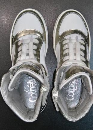 Хайтопы, сникерсы, ботинки производства итальянской компании colpatuа, р. 31 (20,5 см.)5