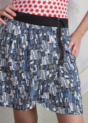 Оригинальная модная юбочка с запахом
