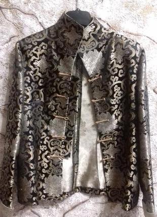 Пиджак в японо-китайском стиле.