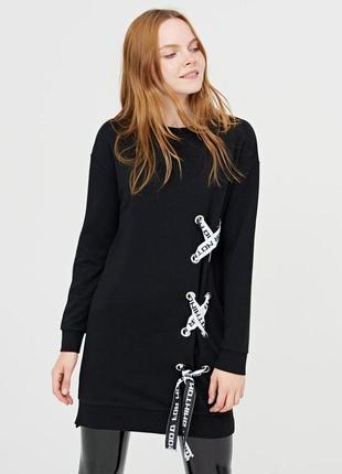 Спортивное платье с завязками cropp