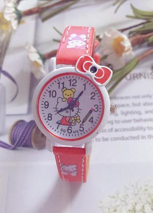 1-109 детские наручные часы hello kitty