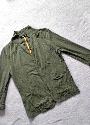 Трикотажный легкий пиджак от internacionate