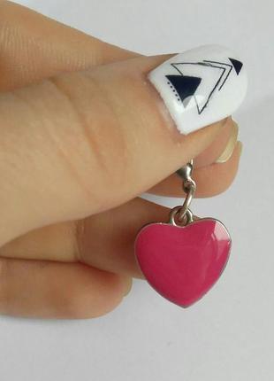 Кулон сердце романтика винтажное ретро стильное 14 февраля