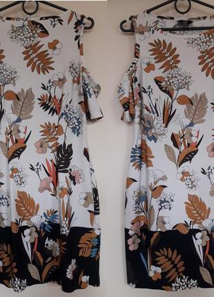 Стильное  летнее платье для хрупкой девушки (f&f) размер 8