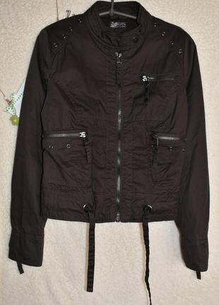 Шикарная деми куртка для стильной девушки.