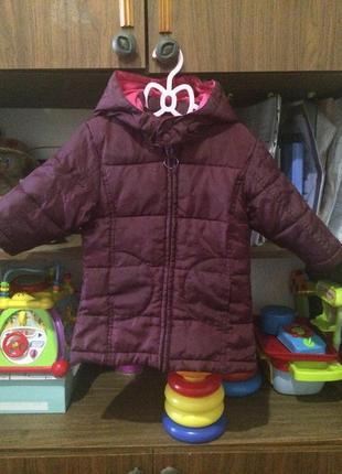 Продам демисезонное детское пальто