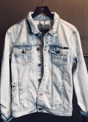 Джинсовая куртка alcott
