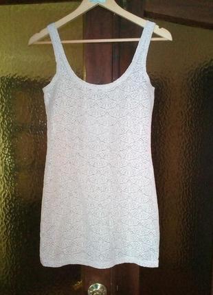 Платье гипюровое без подкладки