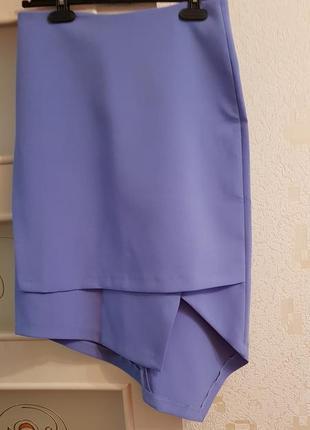 Ассиметричная юбка монтон monton